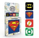 DC COMICS - Pack de 4 Dessous de Verre - Logos