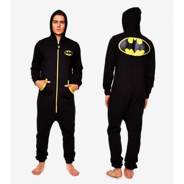DC COMICS - JUMPSUIT - Batman Black Logo - Adulte