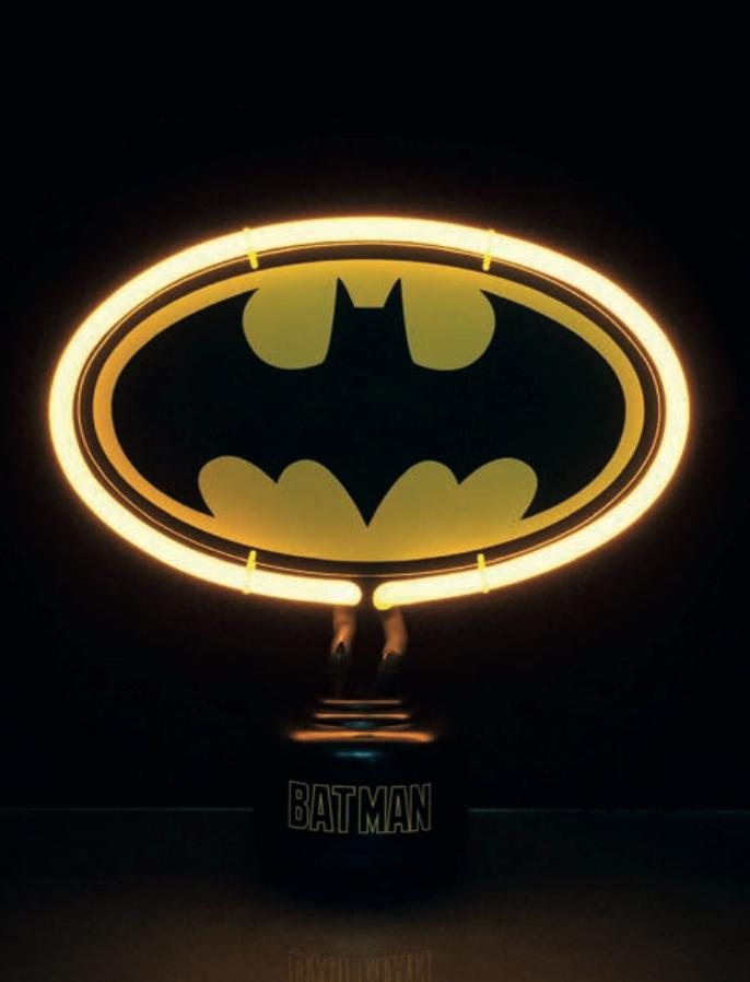 DC COMICS - Neon - Batman Logo MINI Neon Light