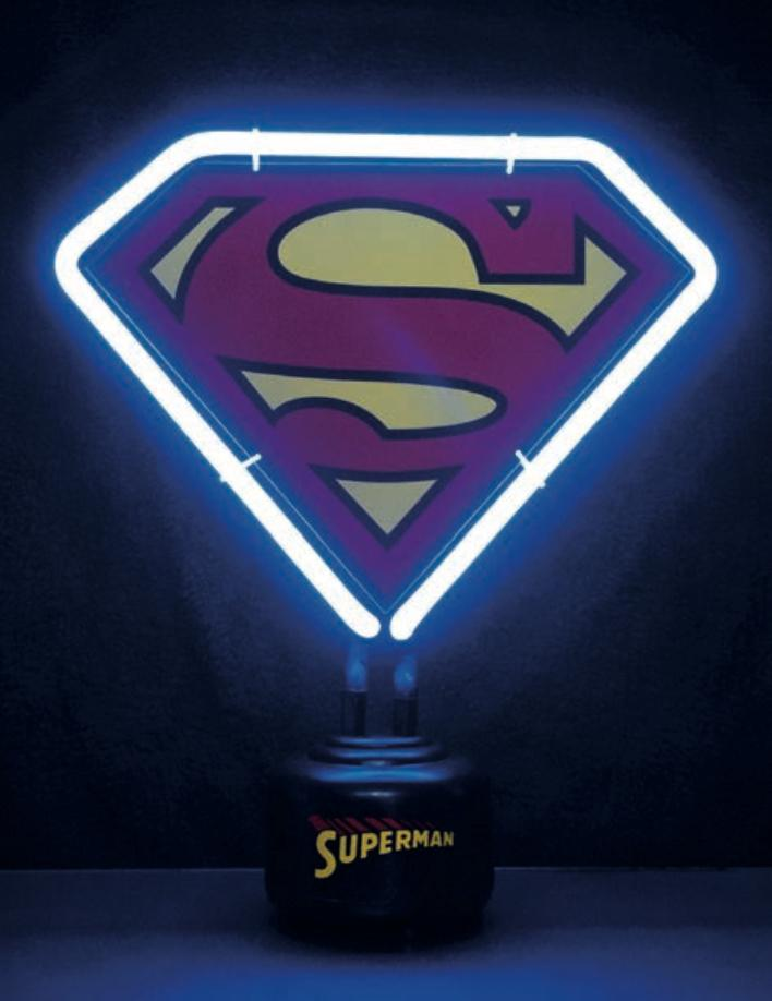 DC COMICS - Neon - Superman Logo MINI Neon Light