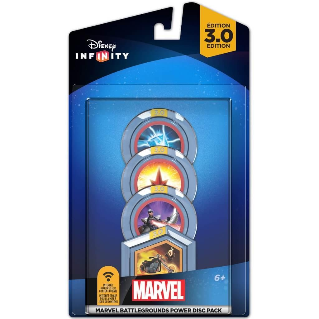 DISNEY INFINITY 3 - 4 Power Discs Pack - Marvel