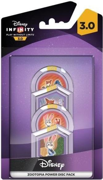 DISNEY INFINITY 3 - 4 Power Discs Pack - Disney Zootopia