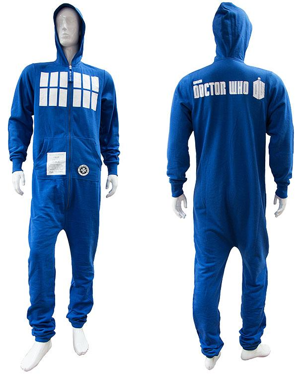 DR WHO - JUMPSUIT - Tardis - Adulte