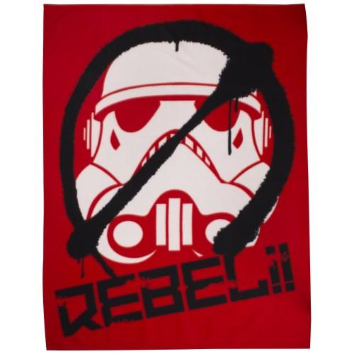 STAR WARS - Couverture Polaire Stormtrooper REBELs (120x150)