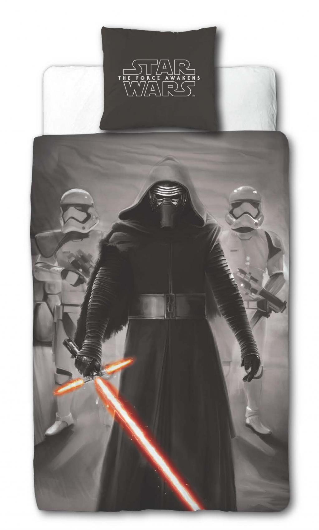 STAR WARS 7 - Parure de lit 140X200 - Sector (Poly-Cotton)