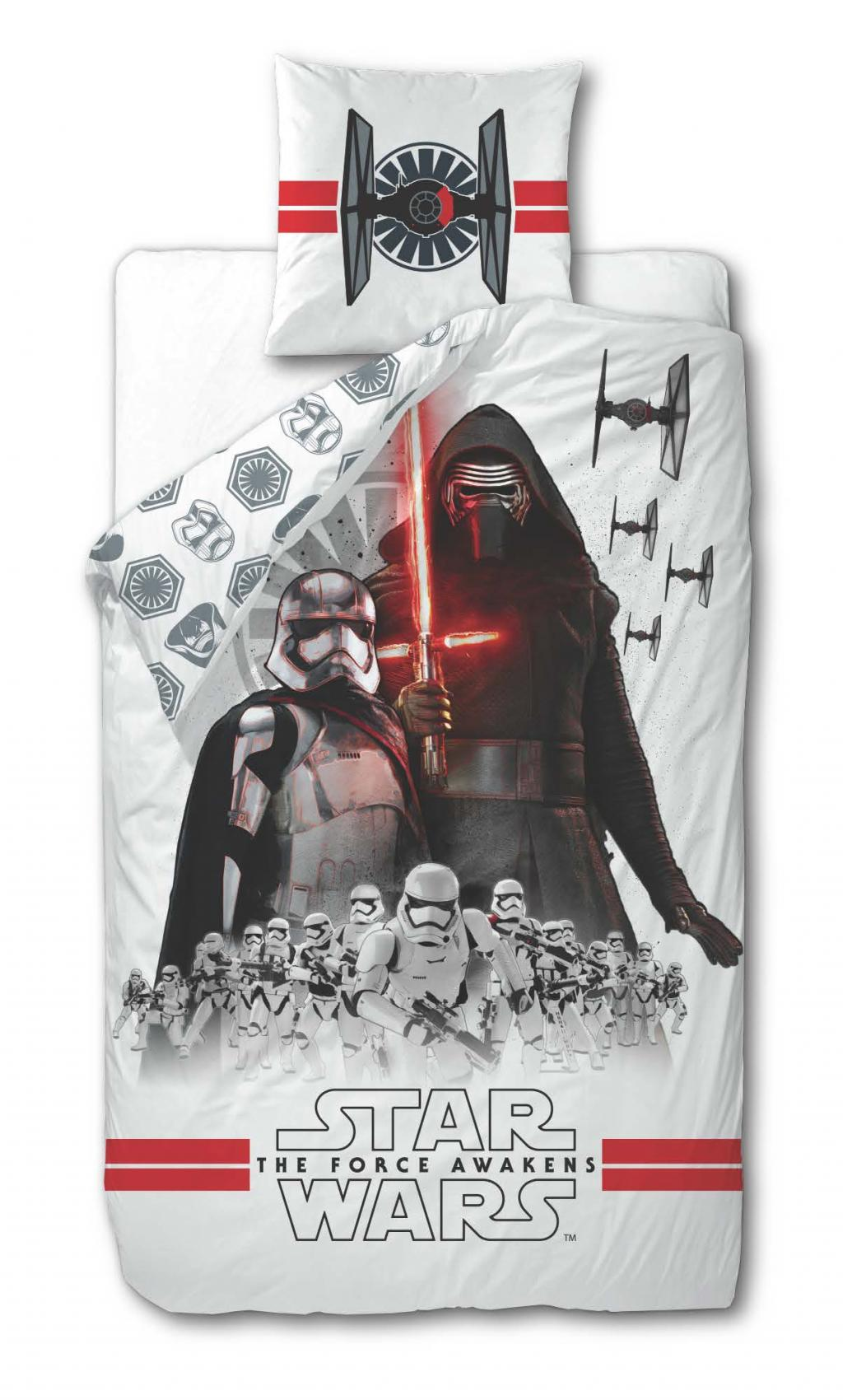 STAR WARS 7 - Parure de lit 140X200 - Attack (100% Cotton)