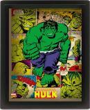 MARVEL RETRO - 3D Lenticular Poster 26X20 - Hulk