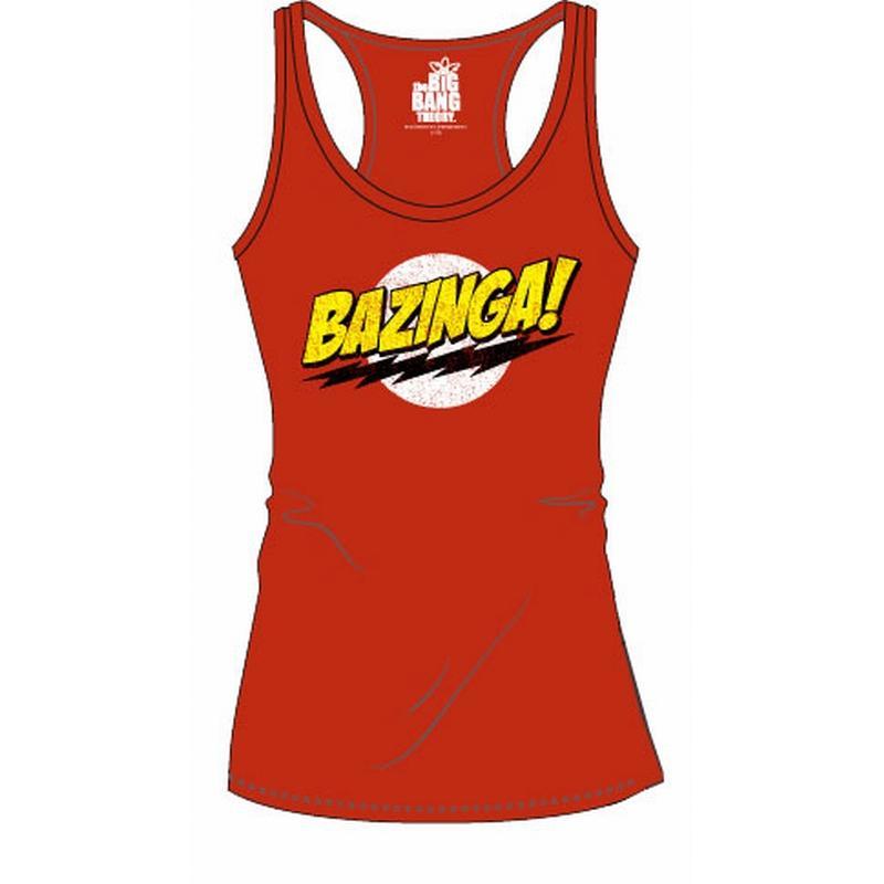 BIG BANG THEORY - T-Shirt Logo Top Tank - GIRLS (L)