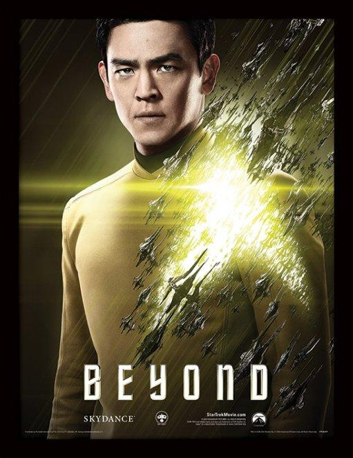 STAR TREK BEYOND - Collector Print HQ 32X42 - Sulu
