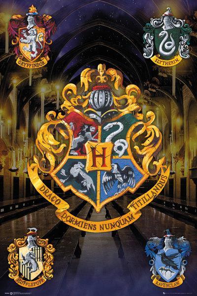 HARRY POTTER - Poster 61X91 - Crests