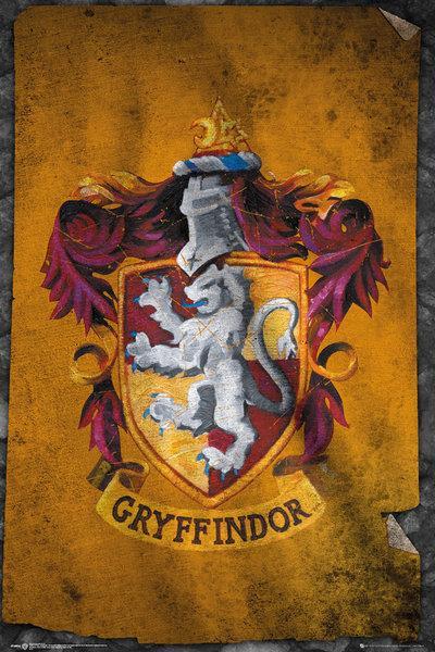 HARRY POTTER - Poster 61X91 - Griffindor Flag