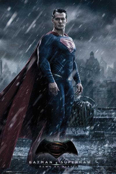 BATMAN VS SUPERMAN - Poster 61X91 - Superman