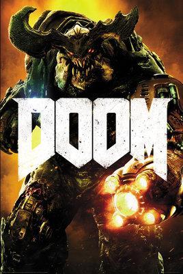 DOOM - Poster 61X91 - Cyber Doom