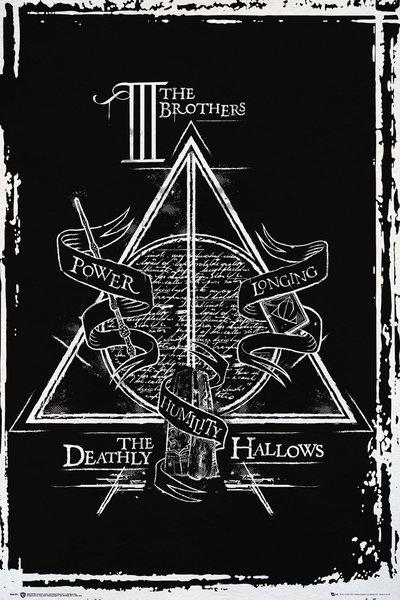 HARRY POTTER - Poster 61X91 - Deathly Hallows Graphic