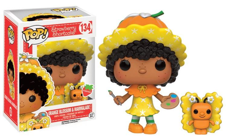 STRAWBERRY SHORTCAKE- Bobble Head POP N° 134 - Orange Blossom