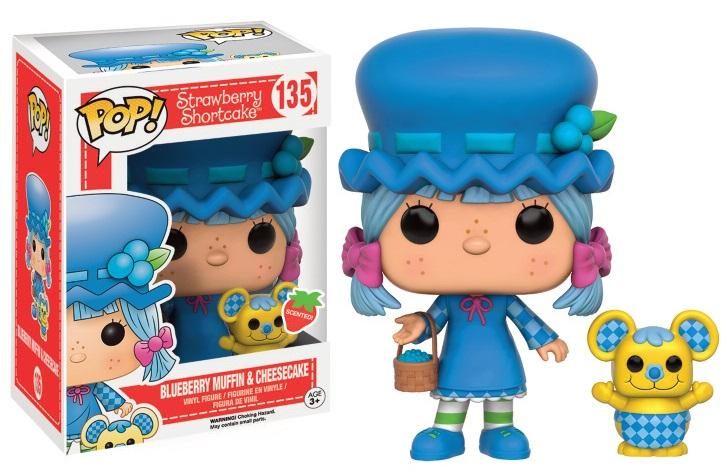 STRAWBERRY SHORTCAKE- Bobble Head POP N° 135 - Blueberry Muffin
