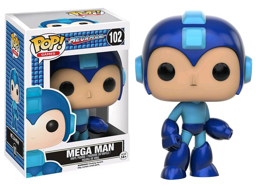 MEGAMAN - Bobble Head POP N° 102 - Megaman