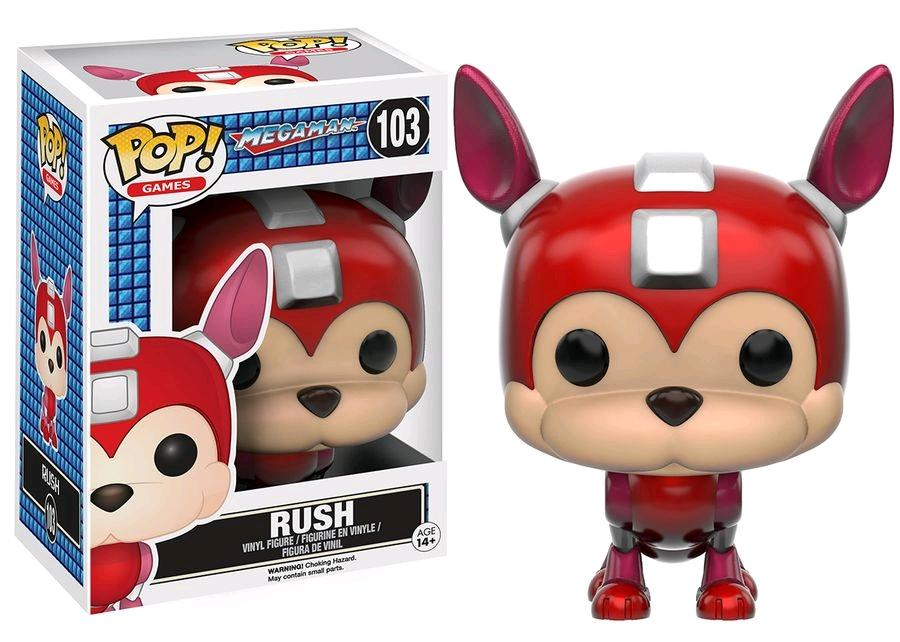 MEGAMAN - Bobble Head POP N° 103 - Rush
