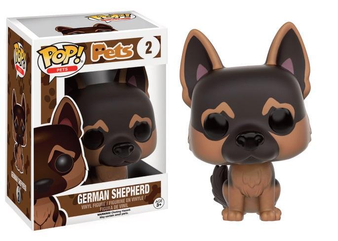 PETS DOGS - Bobble Head POP N° 2 - German Shepherd