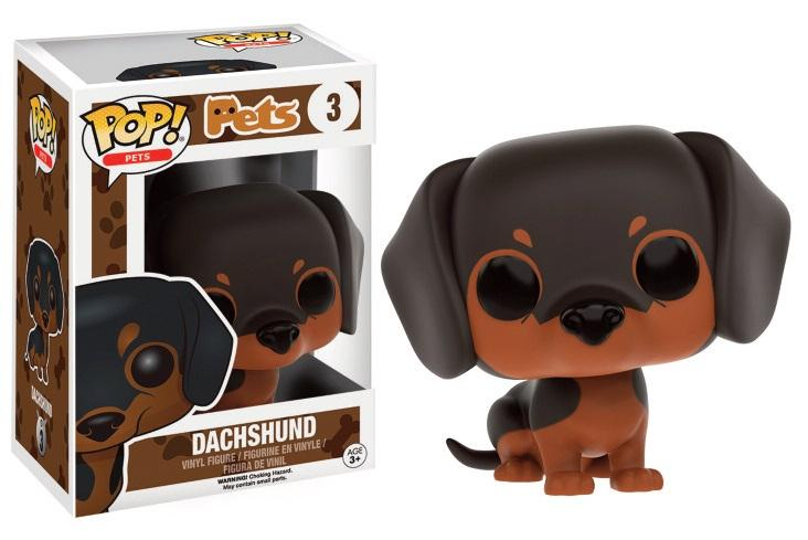 PETS DOGS - Bobble Head POP N° 3 - Dachshund