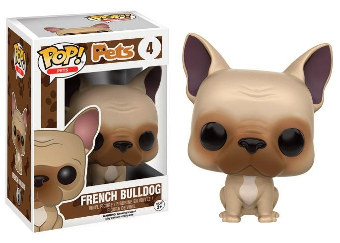 PETS DOGS - Bobble Head POP N° 4 - French Bulldog