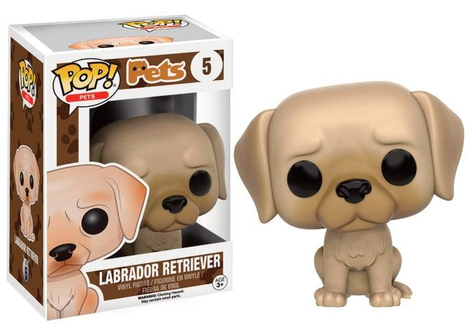 PETS DOGS - Bobble Head POP N° 5 - Labrador Retirever