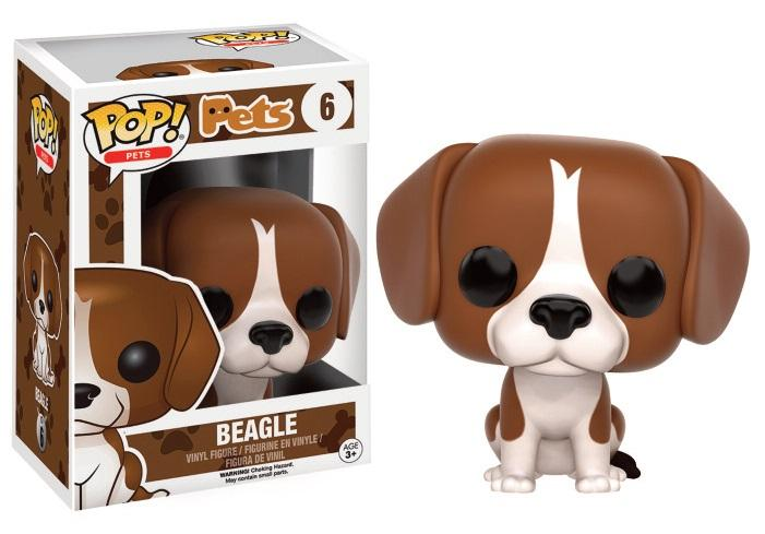 PETS DOGS - Bobble Head POP N° 6 - Beagle
