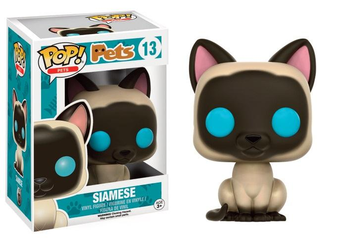 PETS CATS - Bobble Head POP N° 13 - Siamese