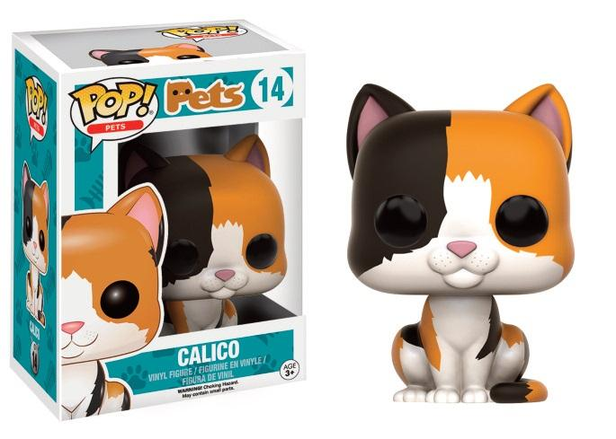 PETS CATS - Bobble Head POP N° 14 - Calico