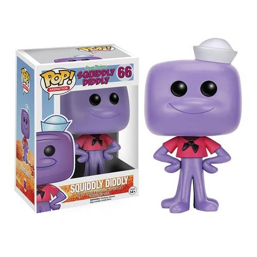 HANNAH BARBERA - Bobble Head POP N° 66 - Squiddly Didddly