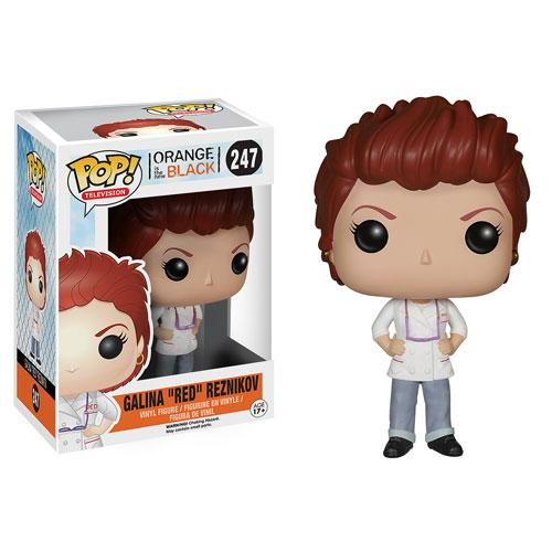 ORANGE IS THE NEW BLACK - Bobble Head POP N° 247 - Galina 'RED'
