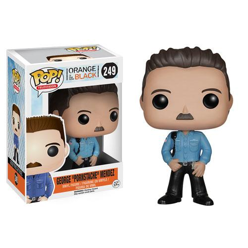 ORANGE IS THE NEW BLACK - Bobble Head POP N° 249 - Pornstache