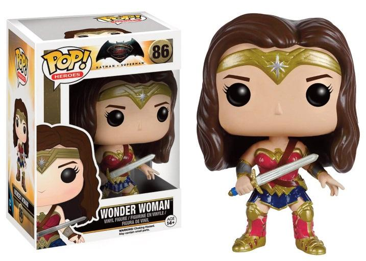 BATMAN VS SUPERMAN - Bobble Head POP N° 86 - Wonder Woman