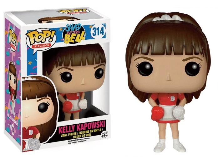 SAVED BY THE BELL - Bobble Head POP N° 314 - Kelly Kapowski