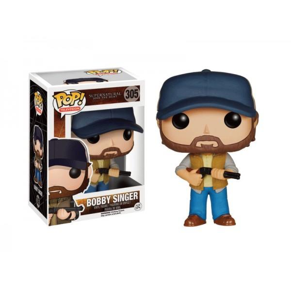 SUPERNATURAL - Bobble Head POP N° 305 - Bobby Singer
