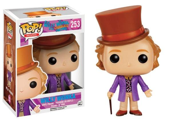 CHARLIE ET LA CHOCOLATERIE - Bobble Head POP N° 253 - Willy Wonka