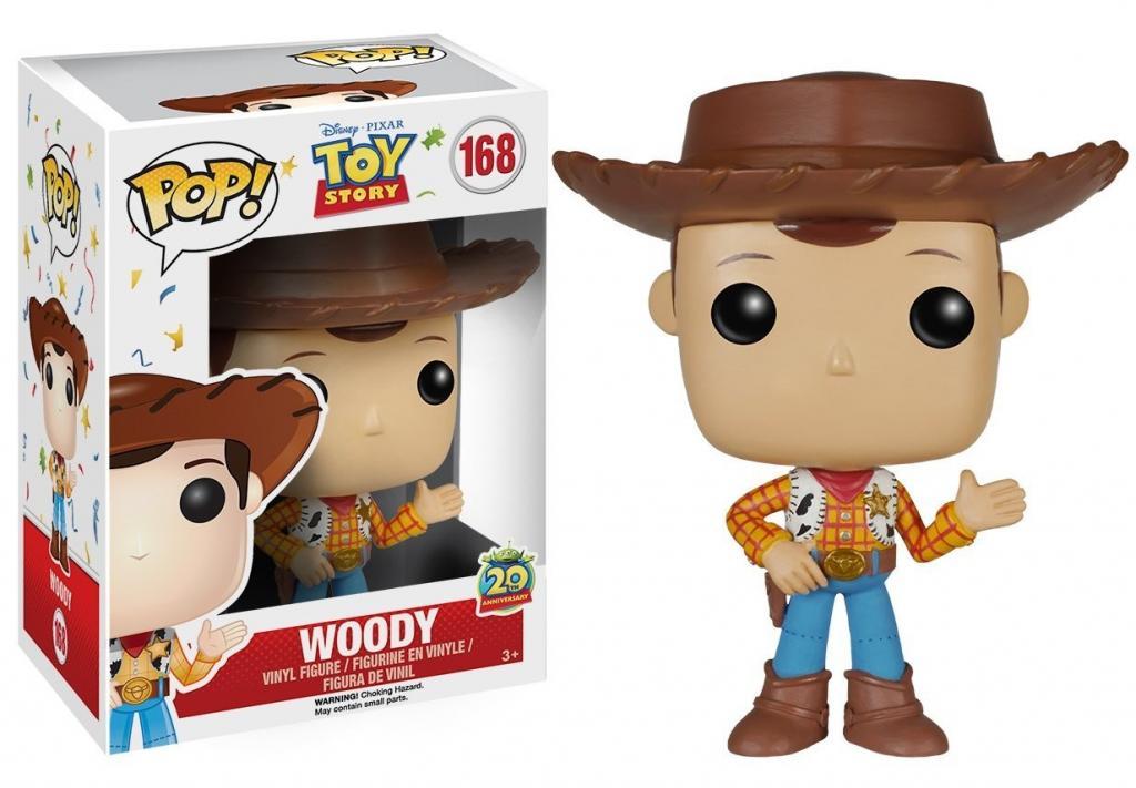 DISNEY - Bobble Head POP N° 168 - Woody - Toy Story