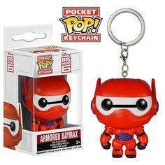 Pocket Pop Keychains : Disney - Big Hero 6 - Armored Baymax