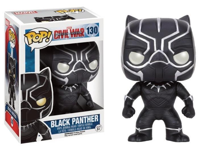 MARVEL CIVIL WARS - Bobble Head POP N° 130 - Black Panther