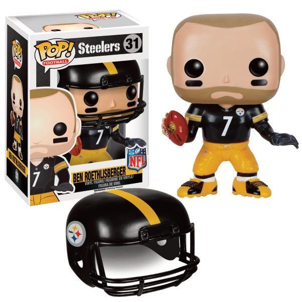 NFL - Bobble Head POP N° 31 - Ben Roethlisberger