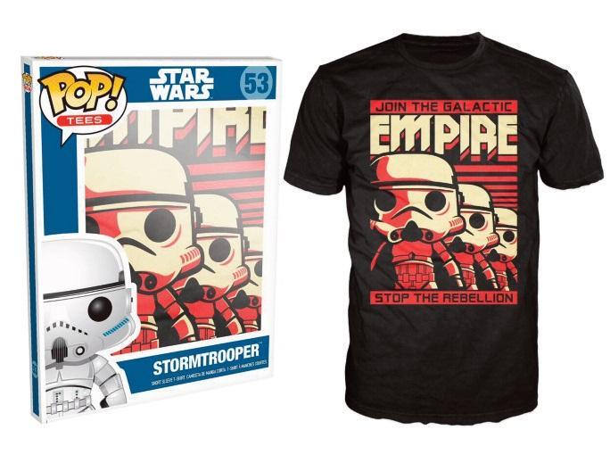 STAR WARS - T-Shirt POP - Stormtrooper (XL)_2