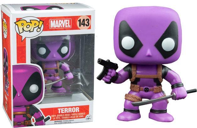 MARVEL - Bobble Head Pop N° 143 - Deadpool Rainbow Squad Terror