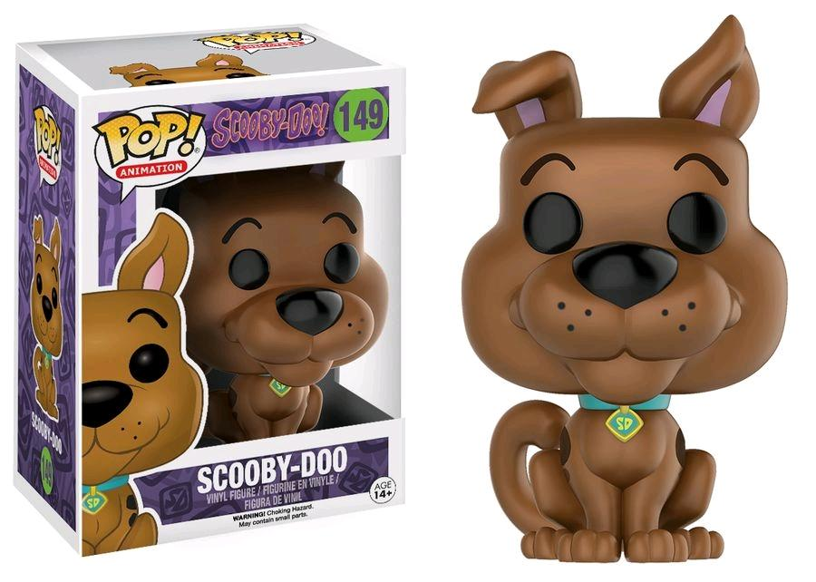 SCOOBY-DOO - Bobble Head POP N° 149 - Scooby-Doo