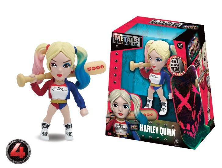 SUICIDE SQUAD - METAL Die Cast Figure 10 cm - Harley Quinn