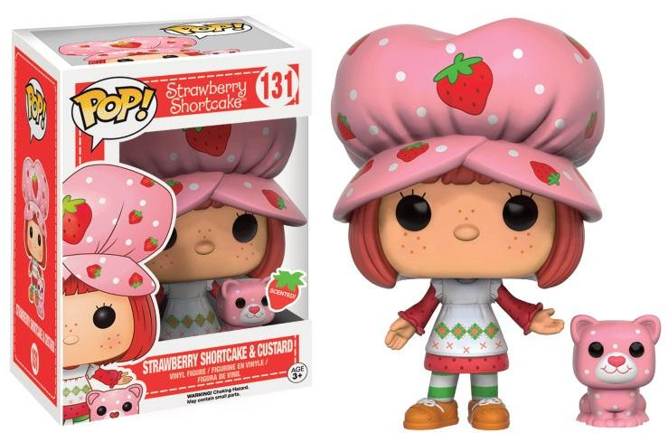 STRAWBERRY SHORTCAKE- Bobble Head POP N° 131 - Custard