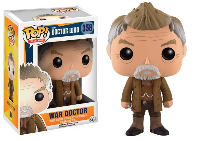 DOCTOR WHO - Bobble Head POP N° 358 - The War Doctor