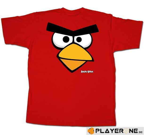 ANGRY BIRDS - T-Shirt Angry Birds Red (XL)