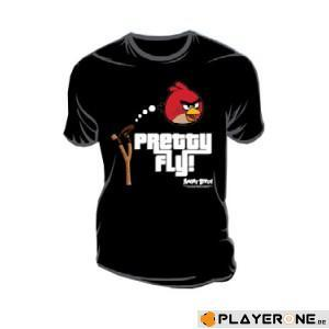 ANGRY BIRDS - T-Shirt Pretty Fly Black (XL)