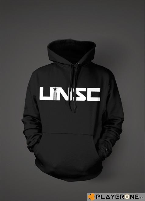 HALO 4 - Sweatshirt UNSC Hoodies Black (L)