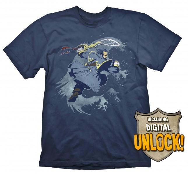 DOTA 2 - T-Shirt Kunkka + Ingame Code (L)